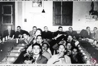 19520053 A Guiteras, M Morro, J Guerri, A Primo, A Delgado, Cte Zubiri, , JMª García Buades