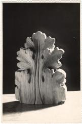 19530054 Talla en madera Hoja