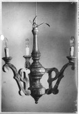19530054 Talla en madera Lámpara