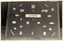 19560057 Exposición de trabajos de ajuste