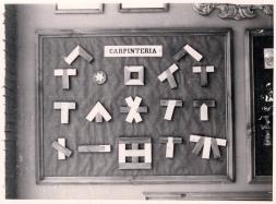 19560057 Exposición de trabajos de carpintería