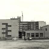 Edificio en su primera fase.